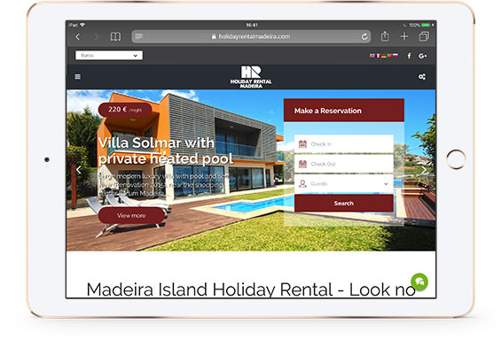 Holiday Rental Madeira